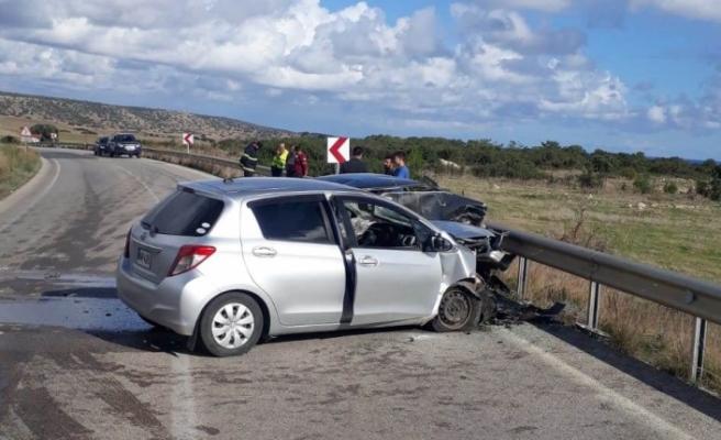 Kumyalı'da trafik çarpışması: 1 kişi hayatını kaybetti