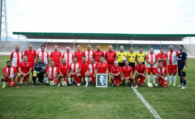Meclis Takımı Cumhuriyet Kupası maçında Belediyeler Birliği Takımı ile karşılaştı