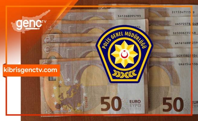 Polis'ten sahte Euro uyarısı