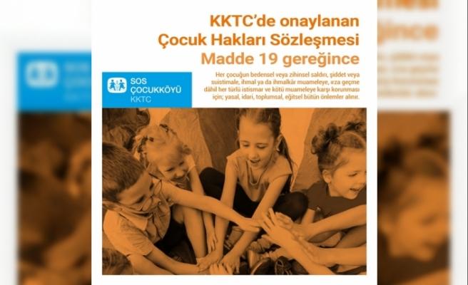 SOS Çocuk Köyü Derneği'nden çocuk hakları günü mesajı