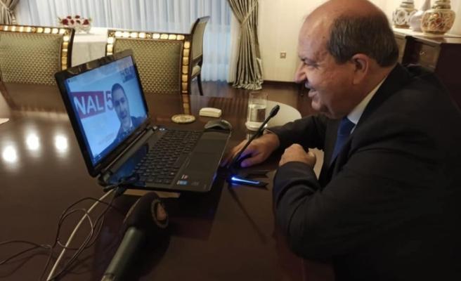 Tatar, Azerbaycan TV 5 Haber kanalında, gündeme ilişkin soruları yanıtladı