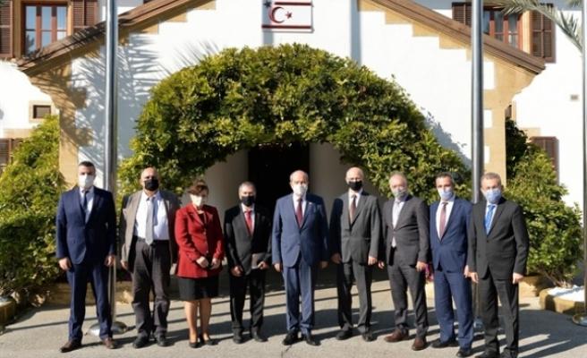 Tatar, Kamu Hizmeti Komisyonu heyetini kabul etti