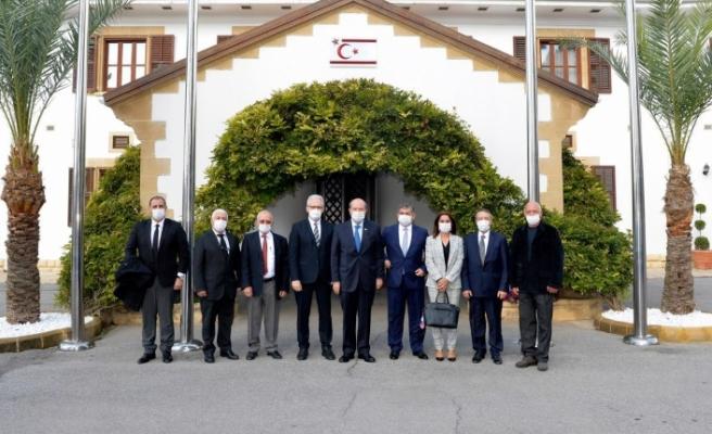 Tatar, LAÜ heyetini kabul etti