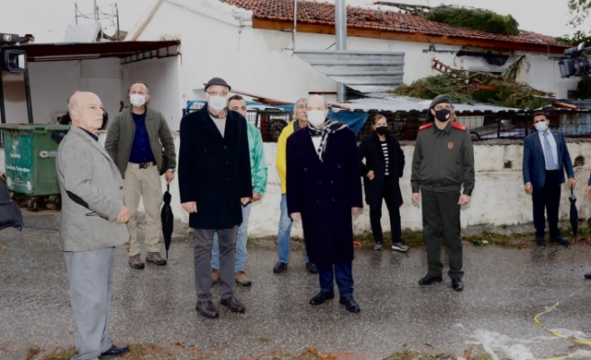 Tatar, Ozanköy'de incelemeler yaptı