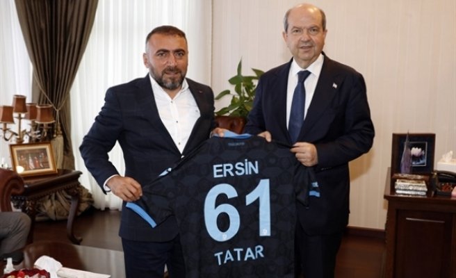 Tatar, Trabzonspor ASKF heyetini kabul etti
