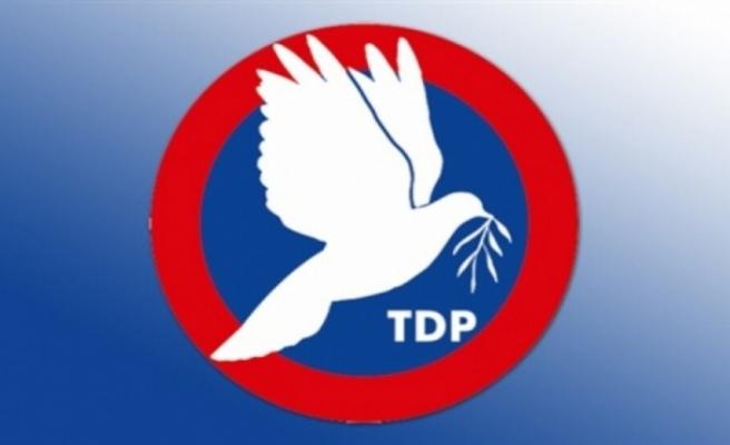 """TDP: """"Gerçekleri açıklamak bu topluma olan borcunuzdur"""""""