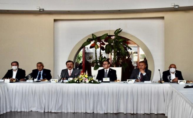 Türkiye – AB Karma İstişare Komitesi Türkiye Kanadı üyeleri onuruna yemek
