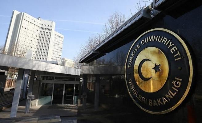 """Türkiye Dışişleri Bakanlığı: """"KKTC'nin meşru hak ve çıkarlarını korumaya kararlılıkla devam edeceğiz"""""""