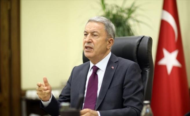 Türkiye Milli Savunma Bakanlığında video  konferans...KTBK Komutanı da katıldı