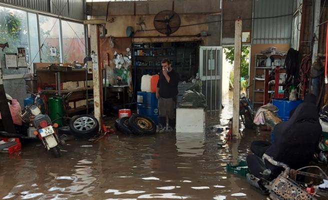 Yağışlar, Güneyde de etkili oldu