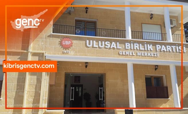 Yaşanan gelişmelere ilişkin UBP Genel Merkezinden açıklama