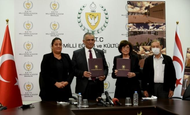Yeni yapılacak okul inşaatına ilişkin protokol imzalandı