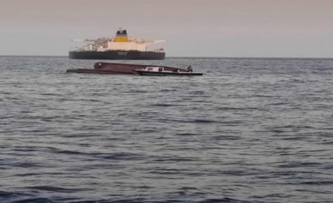 Yunan gemisi balıkçı teknesine çarptı: 5 mürettebat kayıp