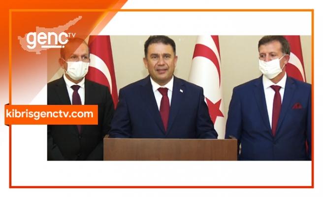 Başbakan Saner, Ankara temaslarını değerlendirdi