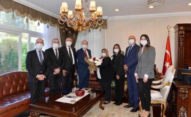Başbakanlık Denetleme Kurulu üyelerinden Tatar'a ziyaret