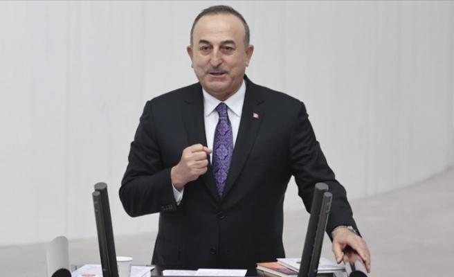 """Çavuşoğlu: """"Diyalog ve hakça paylaşım çağrımızı sahada attığımız adımlarla destekledik"""""""