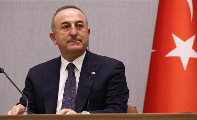 """Çavuşoğlu: """"Yaptırım bizim egemenlik haklarımıza saldırıdır"""""""
