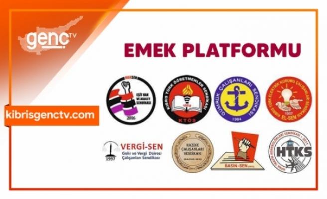 Emek Platformu özel sektör emekçilerinin sorunlarına işaret etti