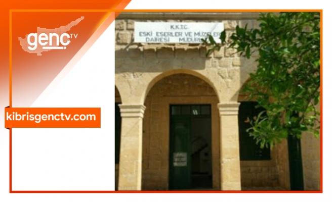 Eski Eserler ve Müzeler Dairesi Müdürlüğü tedbir amaçlı kapatıldı