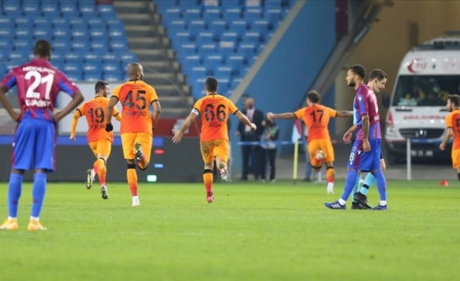 Galatasaray, Trabzon'dan lider dönüyor