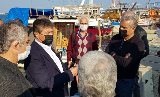 Gazimağusa Limanı'nda tamirat