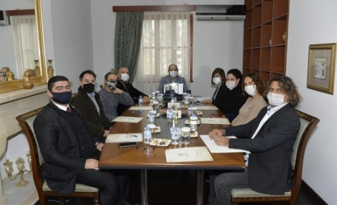 Kültür Sanat Komitesi ilk toplantısını yaptı