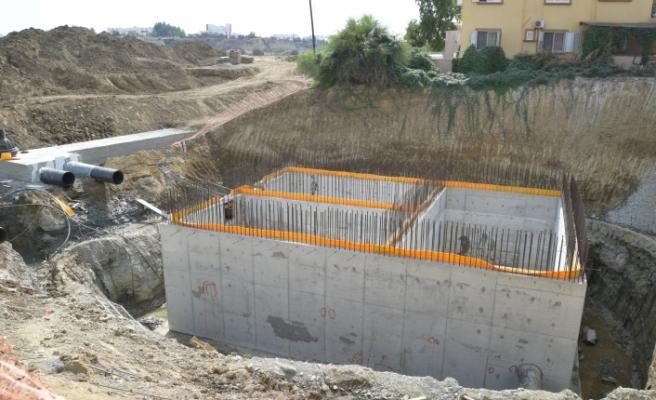Kuzey Lefkoşa Kanalizasyon Ana Taşıyıcı Hattı Projesi'nde çalışmalar devam ediyor
