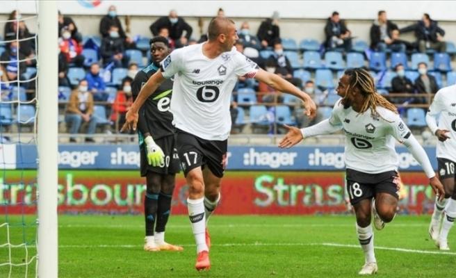 Lille, Burak Yılmaz'ın son dakikalarda attığı golle maçı kazandı