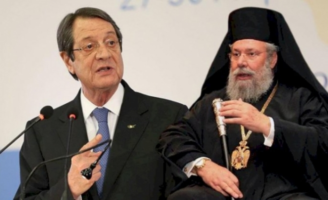 """Rum Başpiskopos: """" Anastasiadis bana iki devletli çözüm istediğini söyledi"""""""