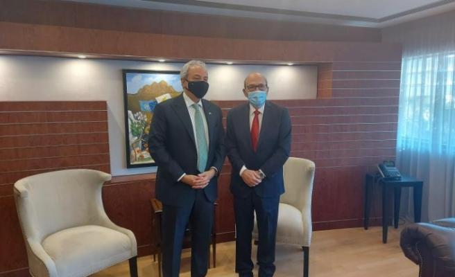 Rum Meclis Başkanı, Suudi Arabistan büyükelçisiyle görüştü
