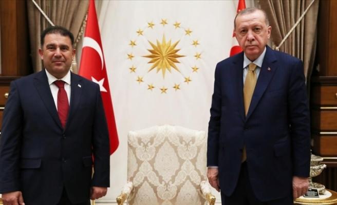 Saner, Erdoğan tarafından kabul edildi