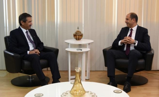 Tahsin Ertuğruloğlu, yeniden Dışişleri Bakanlığı'nda