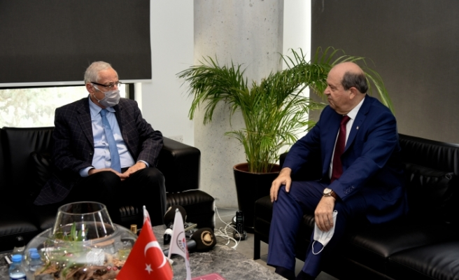 """Tatar: """" Girne'ye çevresi, çağdaş altyapısı ve yolları ile sahip çıkılmalı"""""""