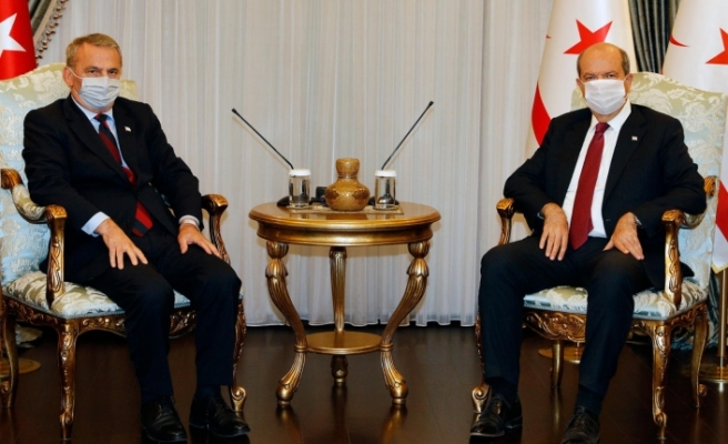 """Tatar: """"Maraş ile ilgili tapuların geçerliliği Vakıflar İdaresi'nin arşivinde ortaya çıktı"""""""