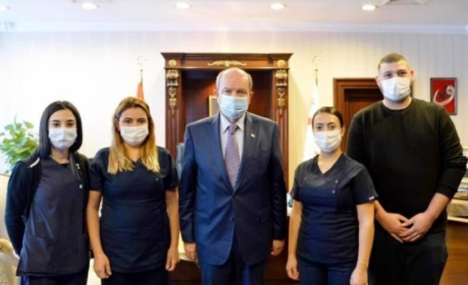 Tatar ve Cumhurbaşkanlığı personeline test yapıldı