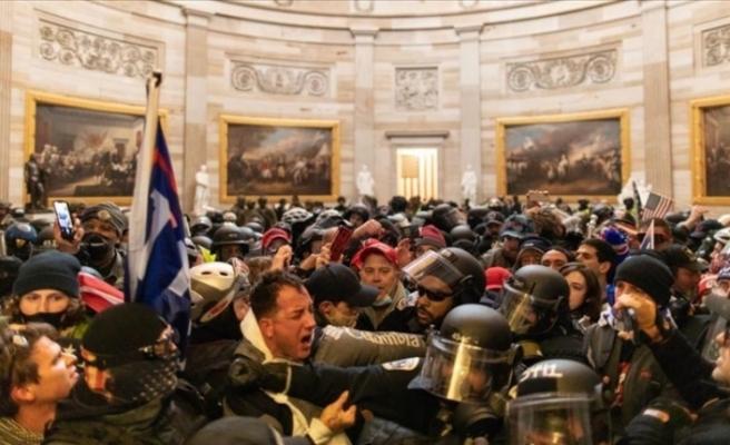ABD Kongresinin basılması sırasındaki olaylarda ölü sayısı 4'e yükseldi