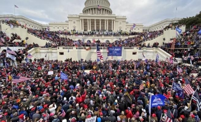Anadolu Ajansı Objektifinden ABD Kongre baskını
