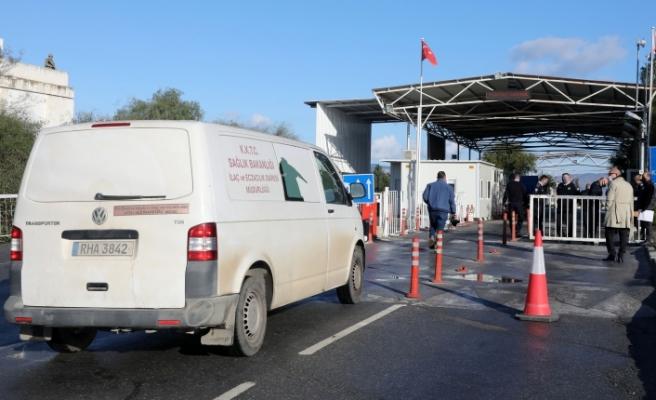 Aşılar Türk tarafına teslim edildi