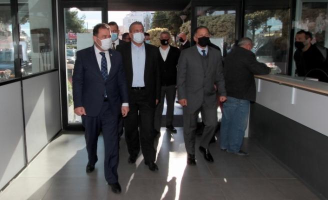 Başbakan, Gazimağusa İlçe Emniyet Kurulu toplantısına katıldı
