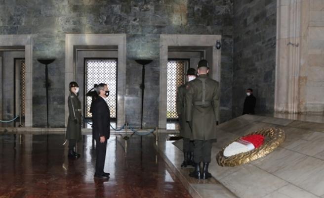Ertuğruloğlu, Anıtkabir'de