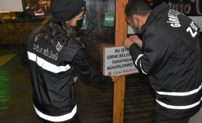 Girne'de işyerleri denetlendi