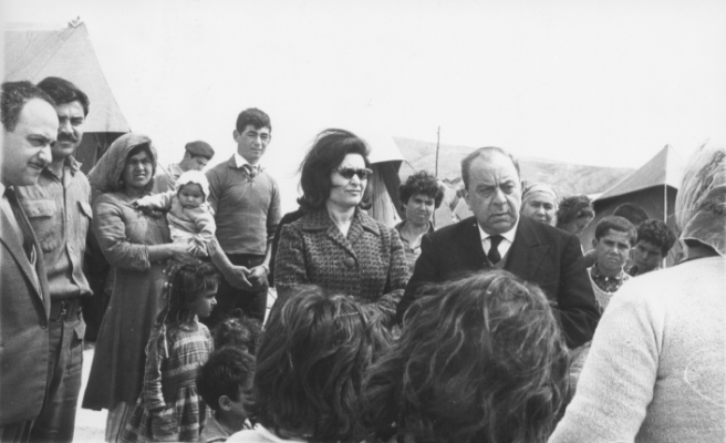 Kıbrıs Türkü'nün mutluluğu için ölümüne  savaş veren bir lider...