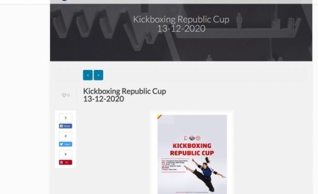 Kickboks Cumhuriyet Kupası, Dünya Federasyonu'nun sayfasında yayınlandı