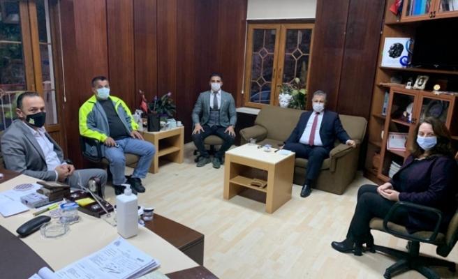 Pilli, Lapta Belediyesi'ni ziyaret etti