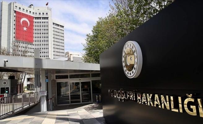 """Türkiye Dışişleri Bakanlığı: """"ABD'deki iç gelişmeleri endişeyle takip ediyoruz"""""""