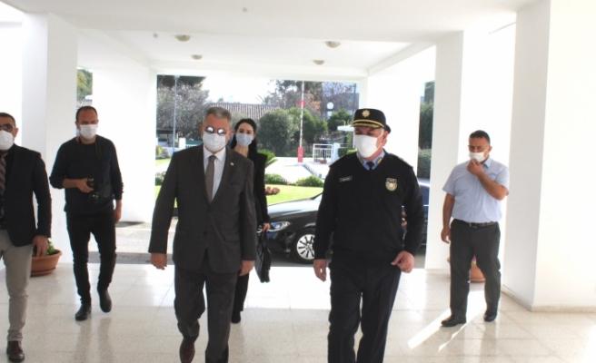 Bakan Evren, Polis Genel Müdürü Soyalan'a teşekkür etti