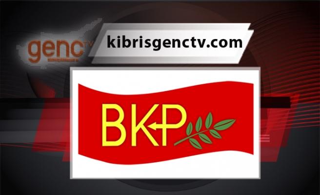 """BKP: """"Kıbrıs Türk tarafı federal çözüm yönünde irade göstermeli"""""""