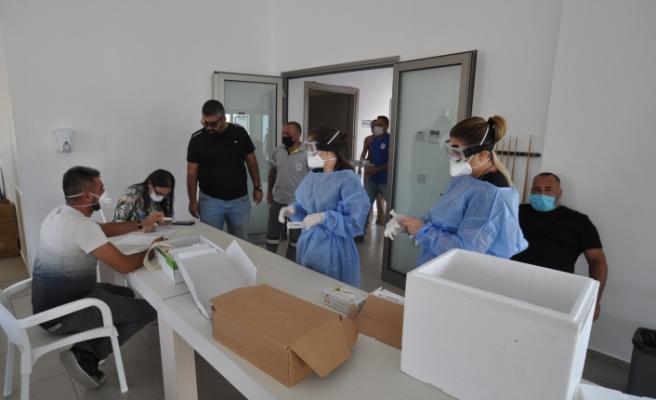 Değirmenlik'te 728 PCR testi sonucunda 3 pozitif vakaya rastlandı