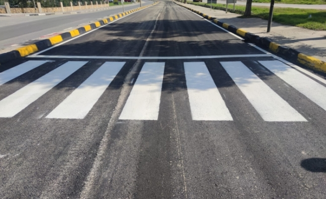 Dr Burhan Nalbantoğlu Caddesi asfaltlanıp trafiğe açıldı