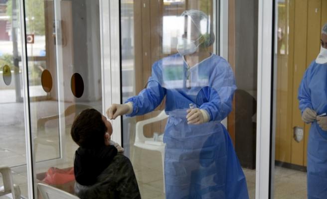 Fuar alanında ücretsiz PCR testler devam ediyor